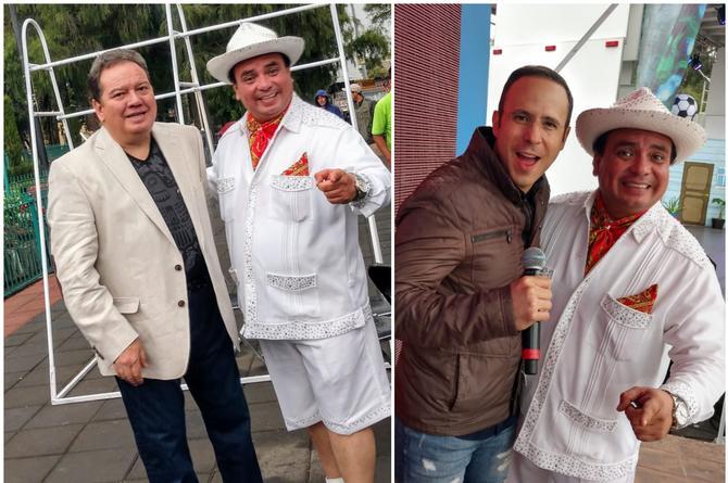 Víctor Sánchez presume orgulloso sus más de 14 años en La Fiera 94.1 FM en televisión nacional (VIDEO+FOTOS)