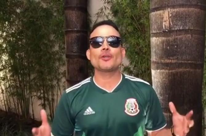 Germán Montero le dedica tema a la Selección Mexicana (+VIDEO)