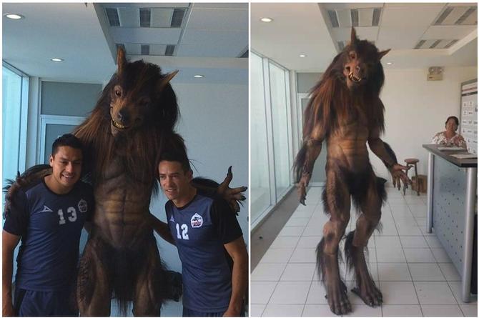 ¿Guillermo del Toro hizo la mascota de Lobos BUAP? (+FOTO)