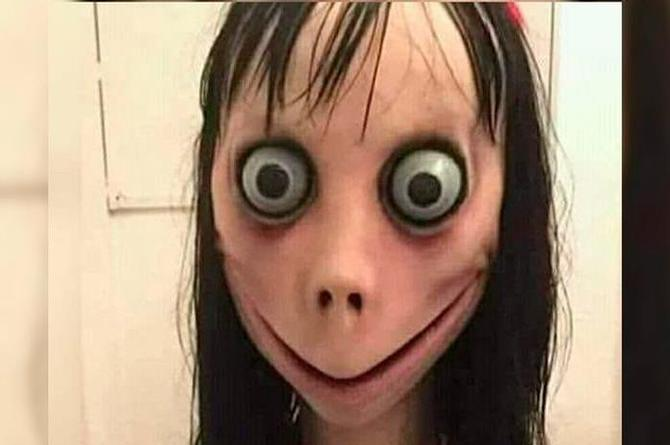 Momo, el aterrador personaje de WhatsApp ¡que está 'maldito'!