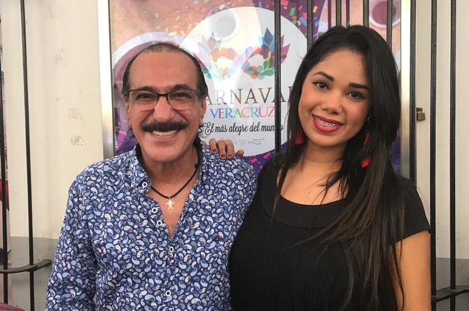 Itcel Macías 'La Morocha' se registra como candidata a Reina del Carnaval de Veracruz (+VIDEO)