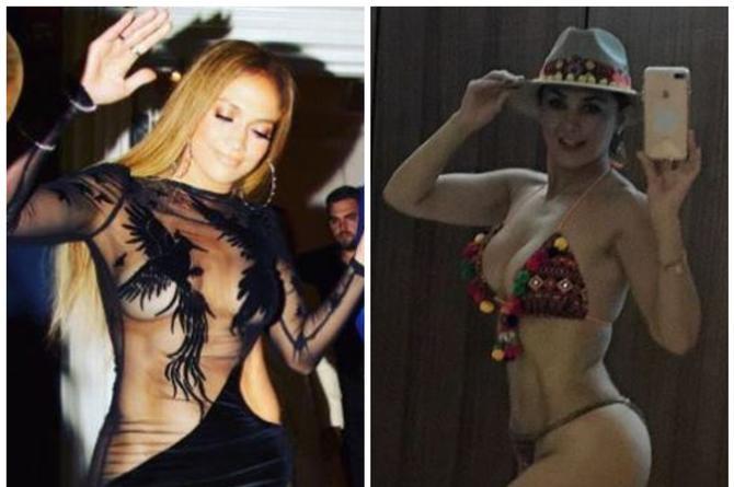 Jennifer López o Aracely Arámbula ¿Quién lo tiene mejor? (+FOTOS)