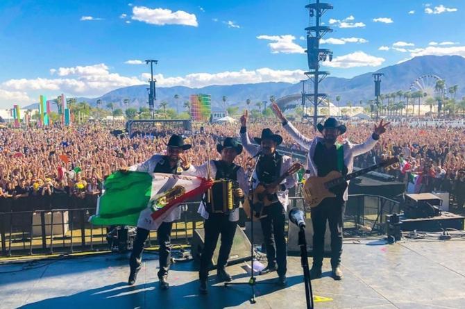 Los Tucanes de Tijuana prenden el Coachella #VIDEOS