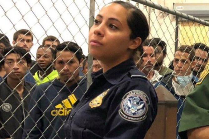 'Migra latina' se roba los corazones de los presos #VIDEO