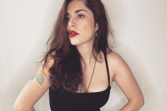Vanda, ex concursante de Enamorándonos casi enseña 'el tesorito' #FOTO