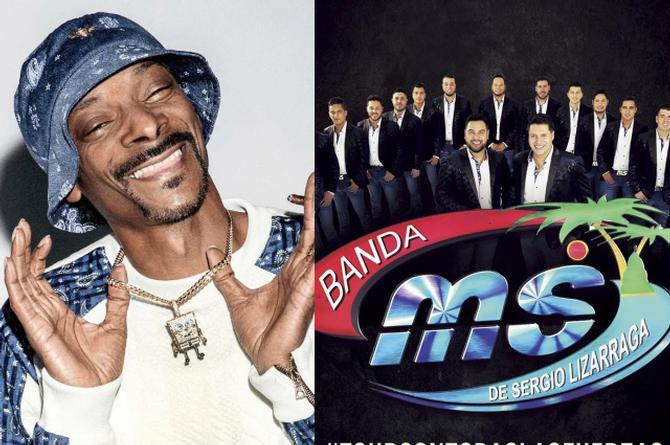 Snoop Dogg confirma colaboración con Banda MS