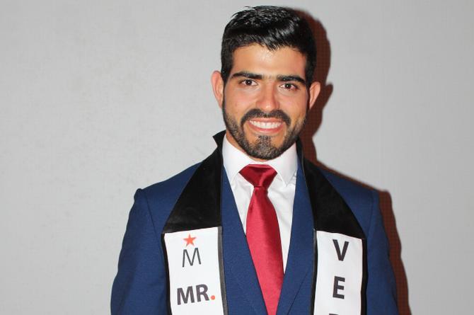 Juan Canales es Mister Model Veracruz 2019