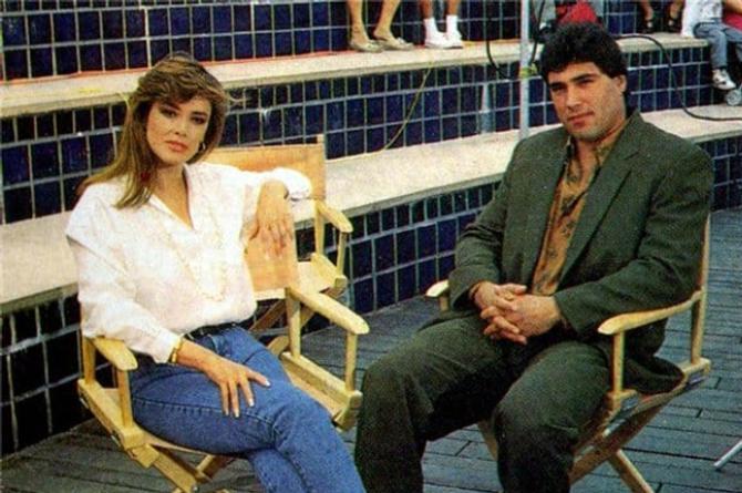 Lucía Méndez dice que anda con Eduardo Yáñez y él lo niega