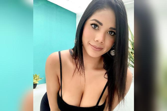Itcel Macías 'La Morocha' mueve suavemente sus caderas #VIDEO