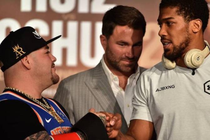 ¿Cuánto pesó Andy Ruiz antes de la pelea con Anthony Joshua?