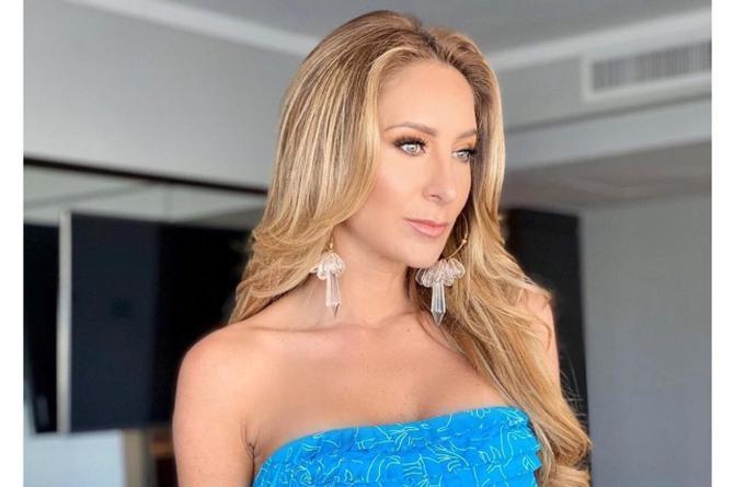 Geraldine Bazán revela que se aumentó el busto #VIDEO