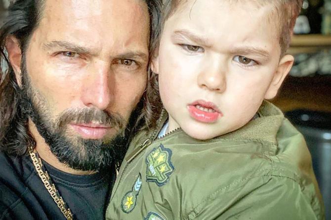 Memes 'cambian' paternidad del hijo de Poncho De Nigris #FOTOS