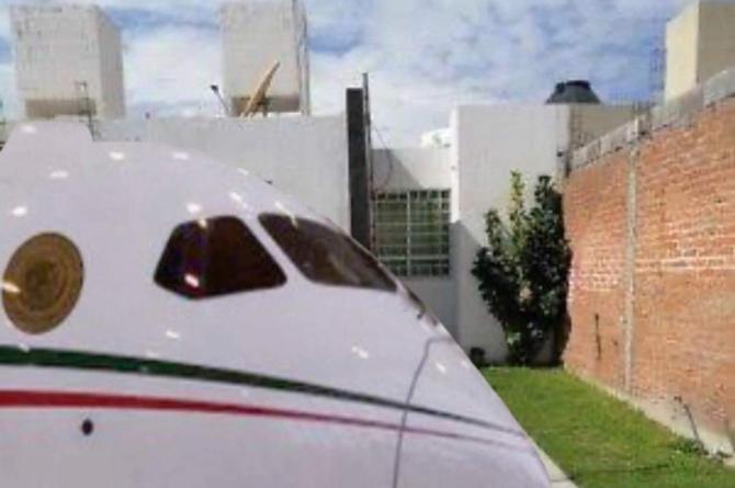 Así imaginan cómo sería tener el avión presidencial #FOTOS