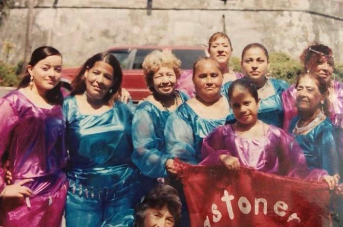 Bastoneras del 14, toda una tradición que inició en la Huaca, en Veracruz