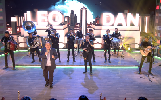 Leo Dan sorprende con  Edwin Luna y La Trakalosa de Monterrey