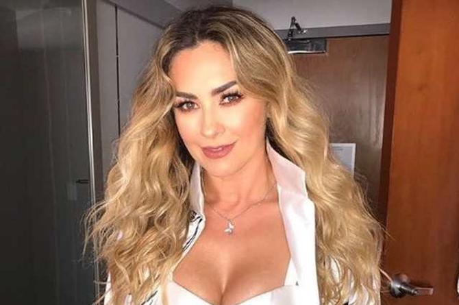 Aracely Arámbula desquicia las redes bailando 'Tusa' en blusa transparente (+video)