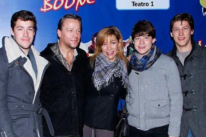 Alfredo Adame le quita el apellido a su hijo Diego (+video)