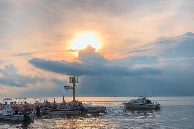 Pronostican día cálido en Veracruz, pero no descartan lluvias
