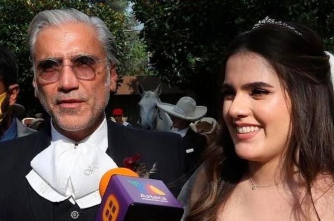 Hija de Alejandro Fernández ¡se casa en plena pandemia! (+videos)