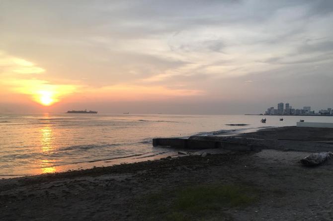 Hoy viernes el día será cálido en Veracruz, pero se acerca un 'norte violento'