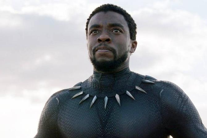 Honran a Chadwick Boseman, protagonista de 'Black Panther', con un mural