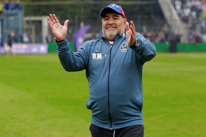 ¡Fallece Maradona!