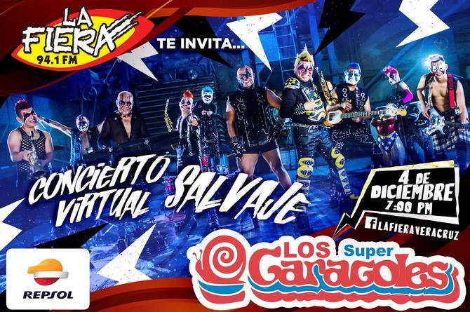 Este viernes bailongo con Los Súper Caracoles, invitan LA FIERA y REPSOL