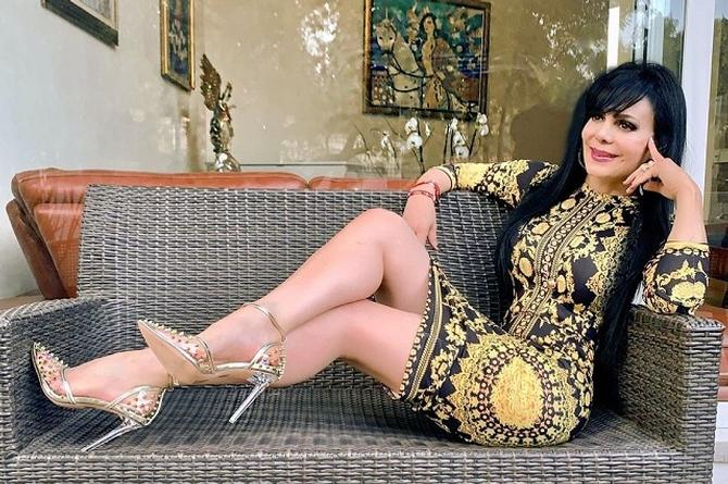 Se acaban en redes a Maribel Guardia por sexy baile navideño (+video)