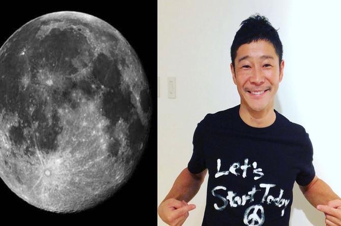 Japonés invitará a ocho  mujeres solteras a visitar la luna