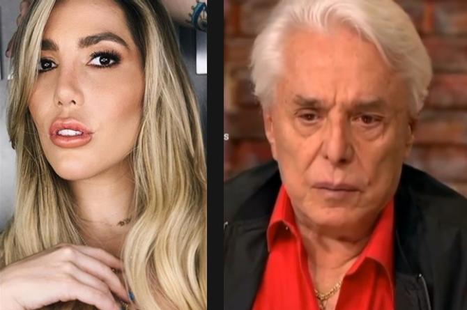 Frida Sofía reacciona al llanto de Enrique Guzmán