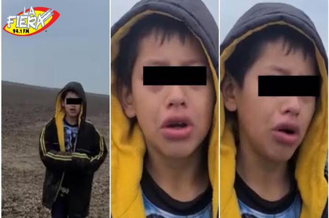 Agente fronterizo le salva la vida a niño de 10 años Video