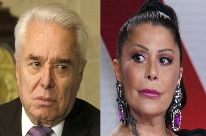 Alejandra Guzmán le reclama a su papá y casi lo golpea