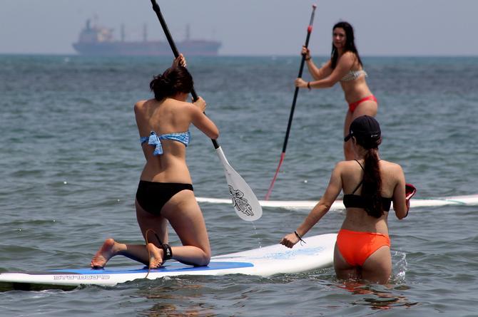 ¡Vamos pa´la playa! Fin de semana caluroso en Veracruz