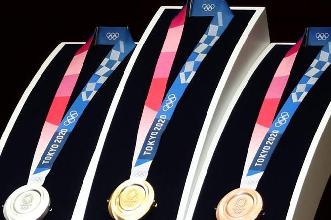 Me mintieron... ¿De que están hechas las  medallas de Tokyo 2020?