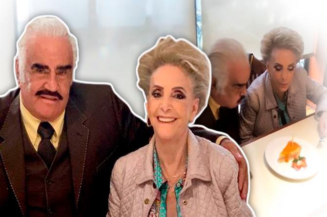 Hospitalizan de emergencia a esposa de Vicente Fernández